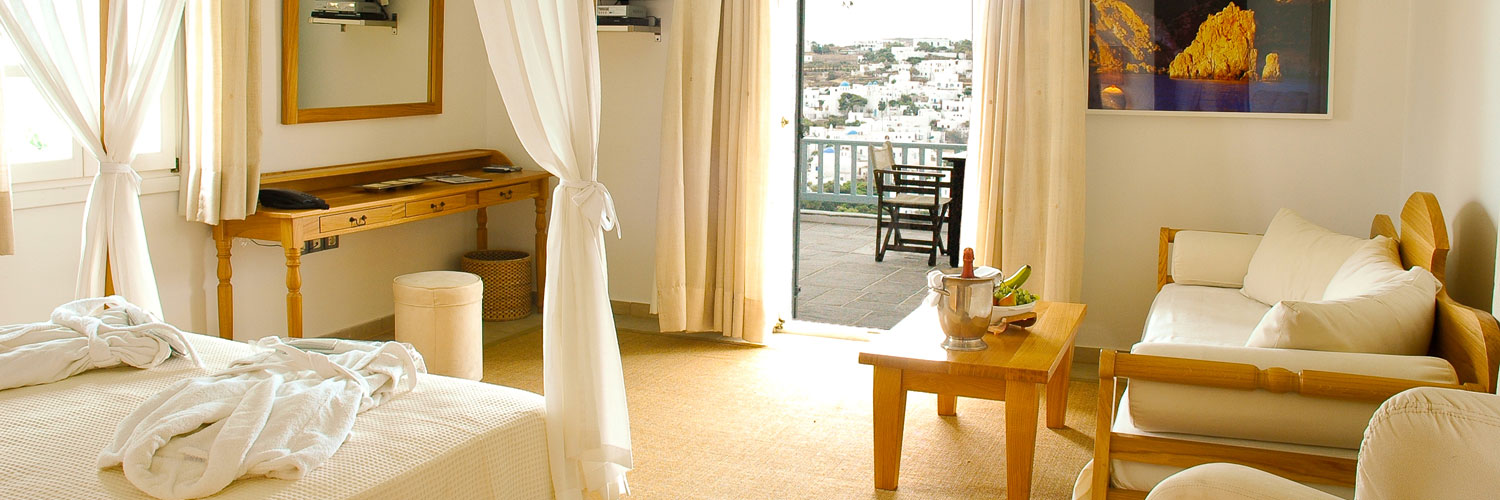 Type of room of hotel Petali in Sifnos
